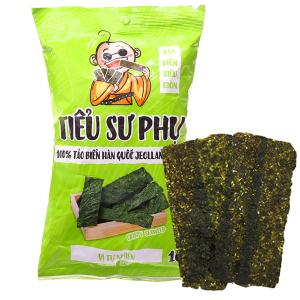 Snack tảo biển siêu giòn vị tự nhiên Tiểu Sư Phụ gói 16g