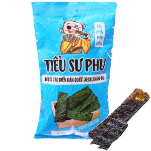 Snack tảo biển siêu giòn vị ghẹ non ngọt nước Tiểu Sư Phụ gói 16g