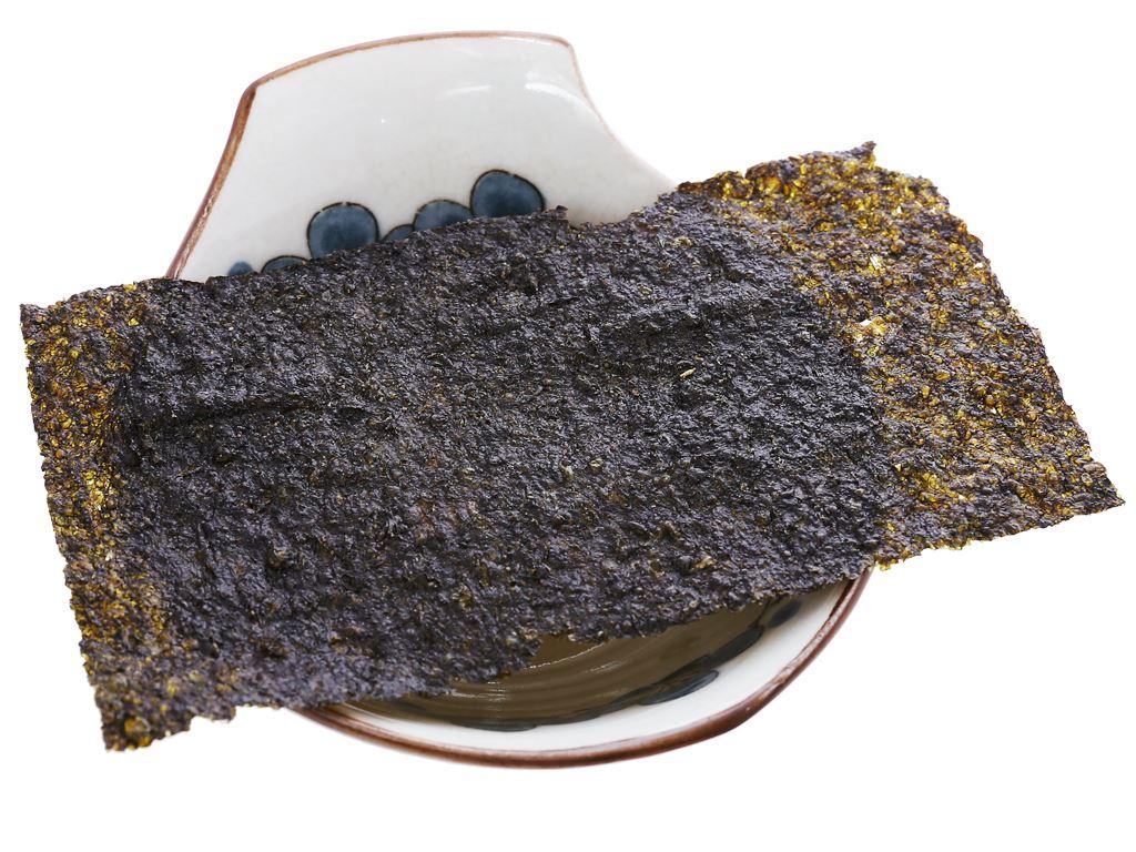 Snack tảo biển siêu giòn Tiểu Sư Phụ vị ghẹ non ngọt nước hộp 48g (12 gói) 5