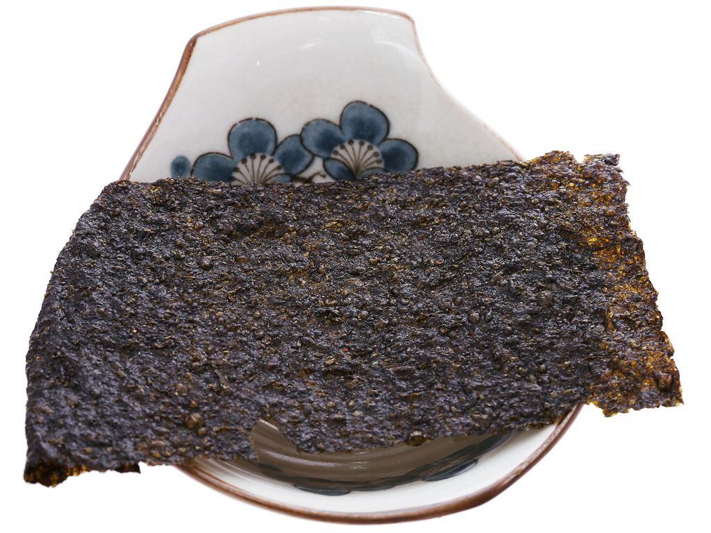 Snack tảo biển siêu giòn Tiểu Sư Phụ vị mực cay hộp 48g (12 gói) 5