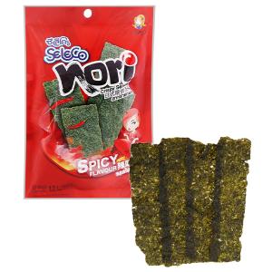 Snack rong biển vị cay nồng Seleco Nori gói 12g
