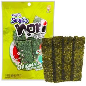 Snack rong biển vị truyền thống Seleco Nori gói 12g