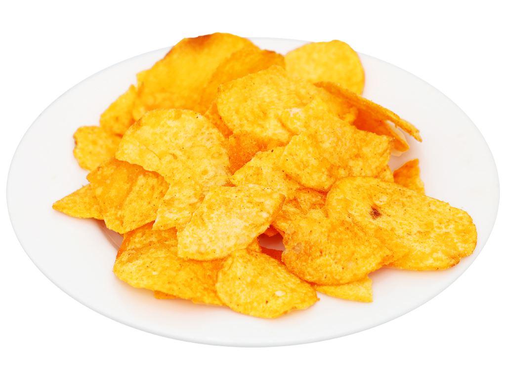 Snack khoai tây vị cay Slide gói 60g 7