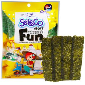 Snack rong biển vị trứng muối Seleco Nori gói 12g