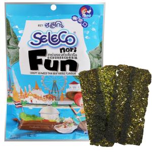 Snack rong biển vị Thai Boat Noodle Seleco Nori gói 12g