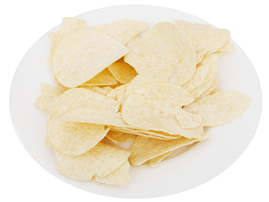 Snack khoai tây vị truyền thống Peke Potato Chips lon 80g 7