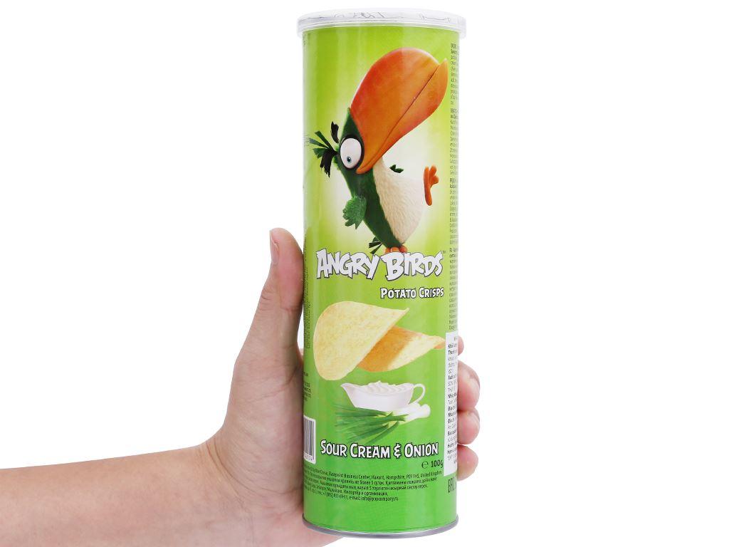 Khoai tây chiên Angry Birds vị hành lon 100g 6