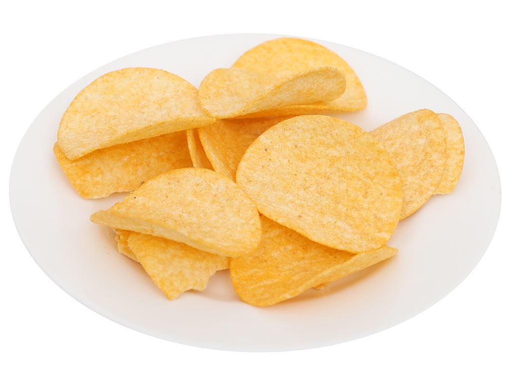 Snack khoai tây Peke Potato Chips vị cua xào ớt lon 80g 5