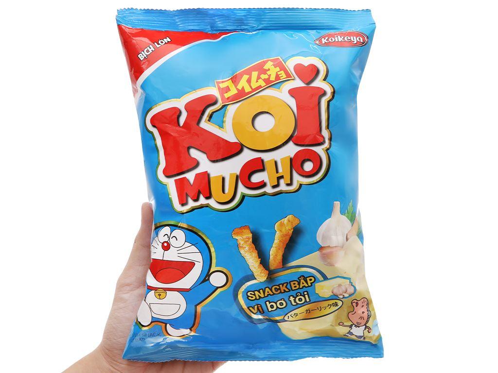 Snack bắp vị bơ tỏi Koimucho gói 64g 5