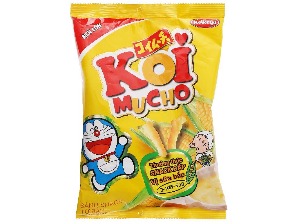 Snack bắp vị sữa bắp Koimucho gói 64g 1