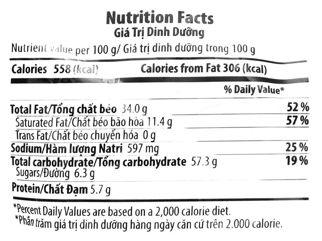 Snack khoai tây vị cay đặc biệt Karamucho gói 70g 3
