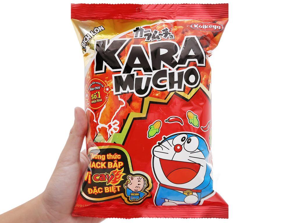 Snack khoai tây vị cay đặc biệt Karamucho gói 70g 5