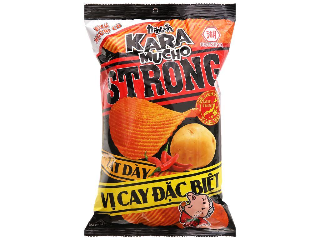 Snack khoai tây vị cay đặc biệt lát dày Karamucho gói 80g 1