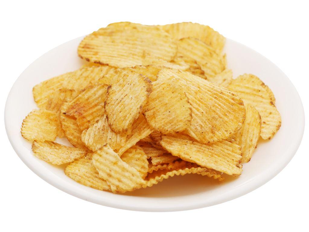 Snack khoai tây vị thịt nướng lát dày Karamucho gói 44g 6