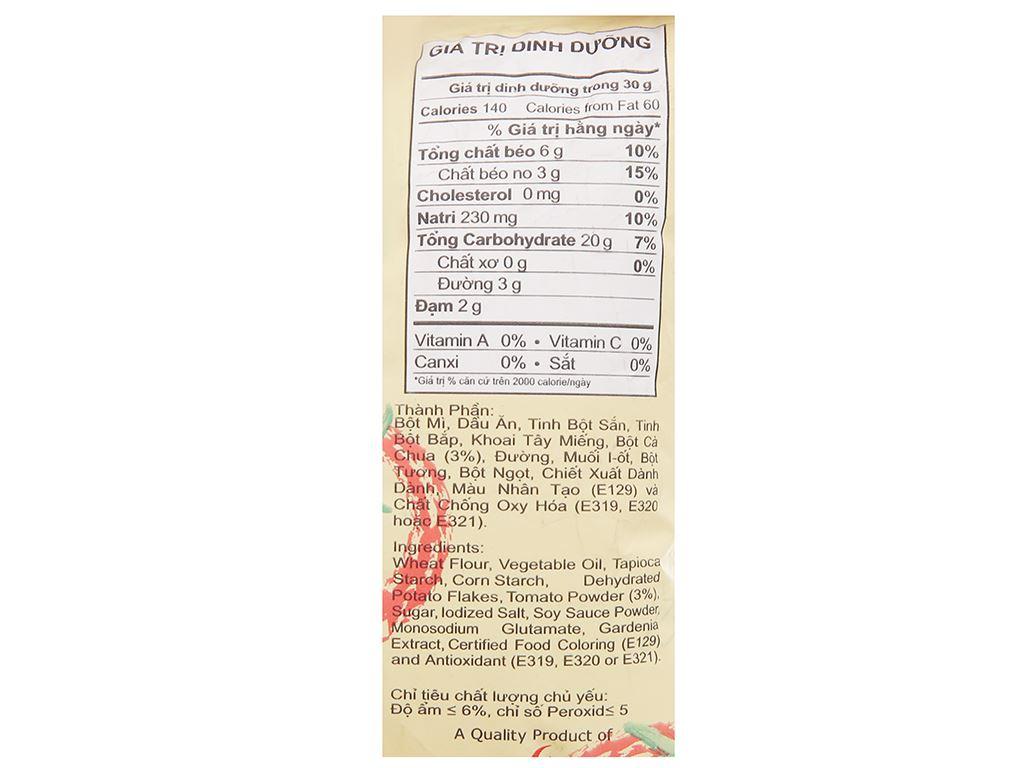 Snack cà chua Oishi Tomati gói 8g 3