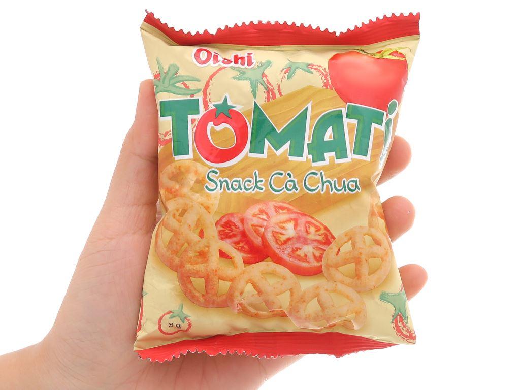 Snack cà chua Oishi Tomati gói 8g 4