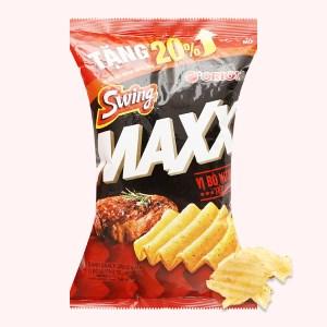 Snack khoai tây Swing vị bò nướng tiêu đen gói 58g