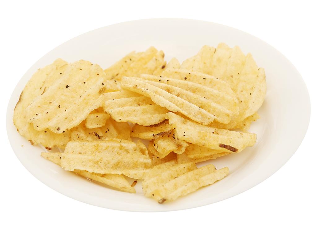 Snack khoai tây Swing vị bò nướng tiêu đen gói 58g 5