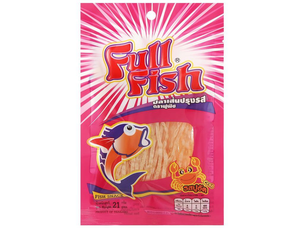 Snack vị cua Cá Full Fish gói 21g 1