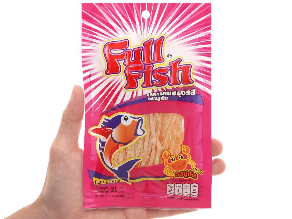 Snack vị cua Cá Full Fish gói 21g 4