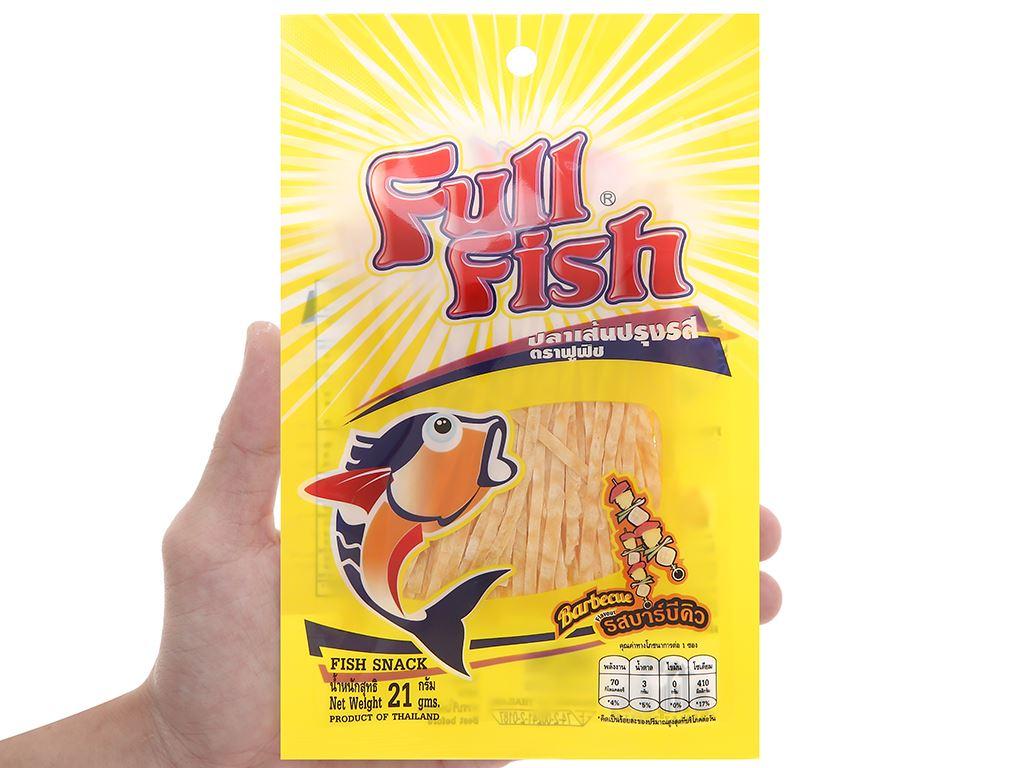 Snack vị bbq Cá Full Fish gói 21g 4