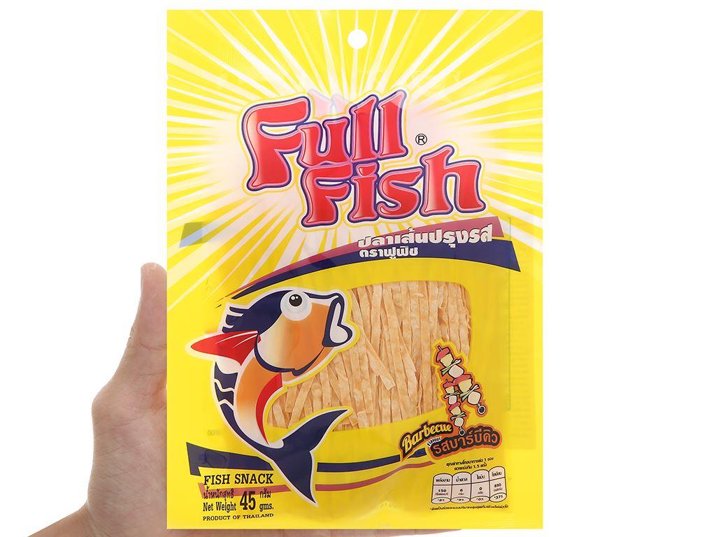 Snack vị bbq Cá Full Fish gói 45g 4