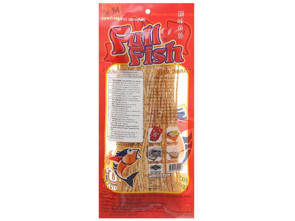 Snack Full Fish vị cay Siracha gói 80g 2