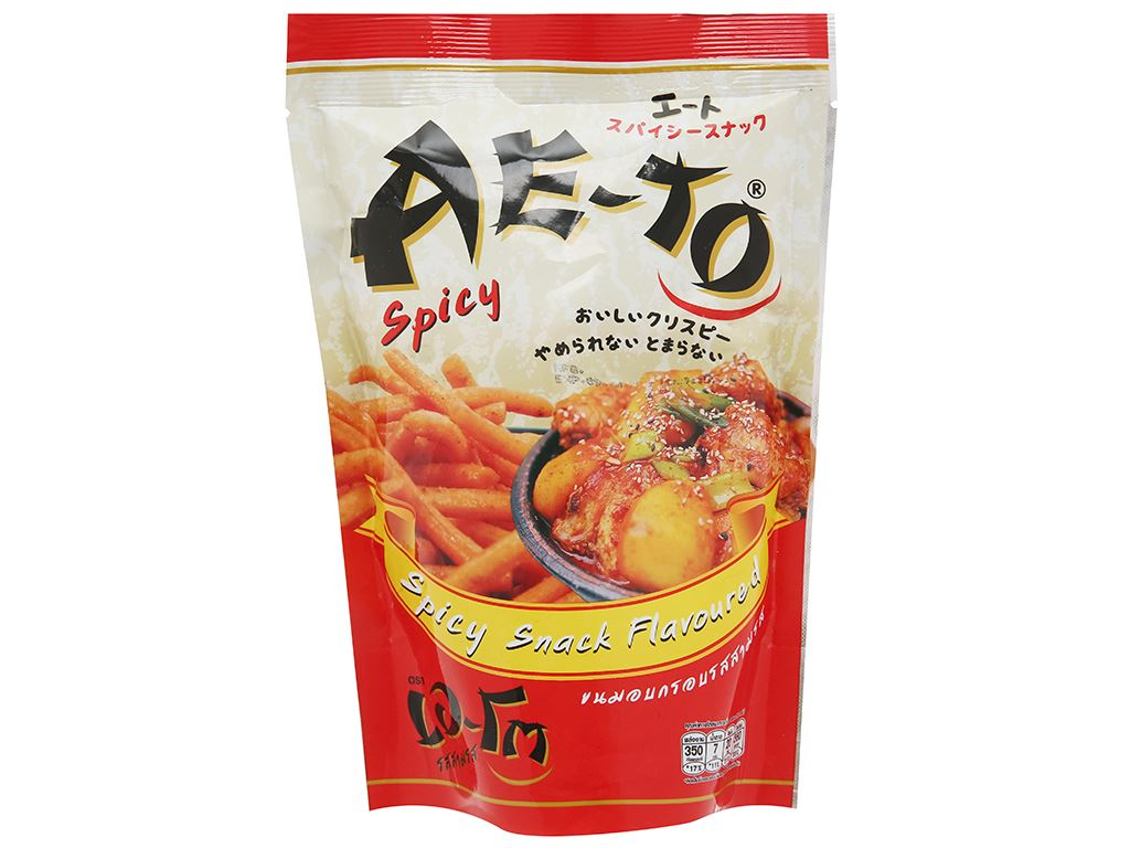 Snack vị cay Ae-to gói 65g 1