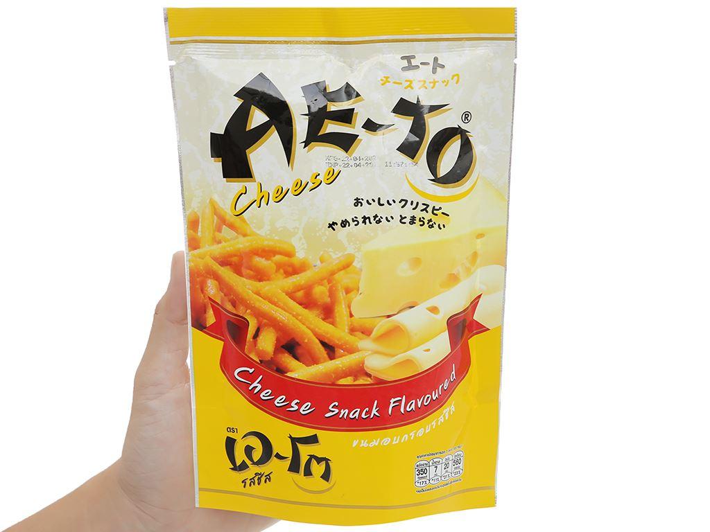 Snack Ae-to vị phô mai gói 65g 4