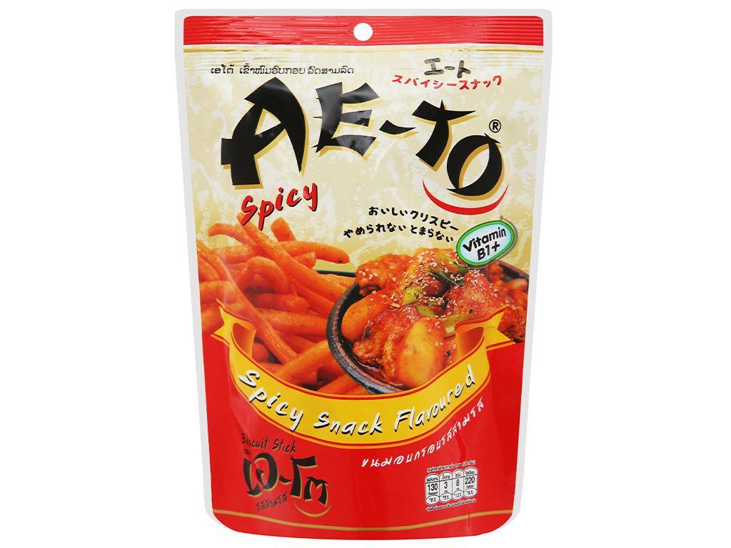 Snack vị cay Ae-to gói 25g 1