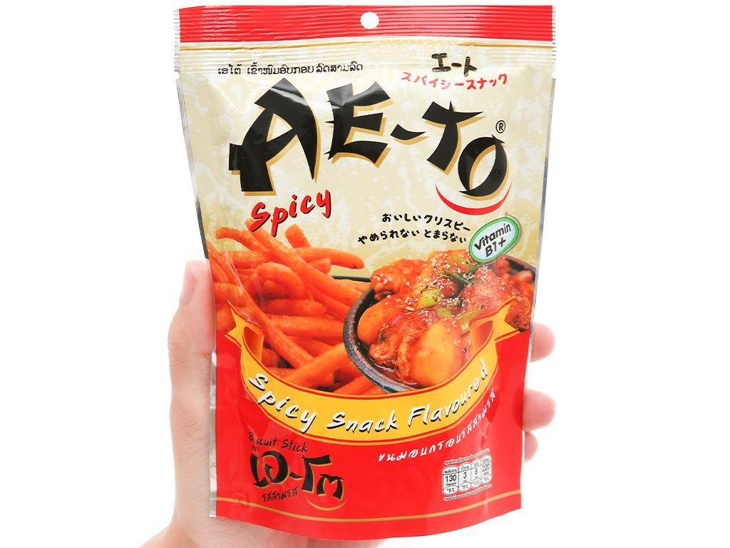 Snack vị cay Ae-to gói 25g 4