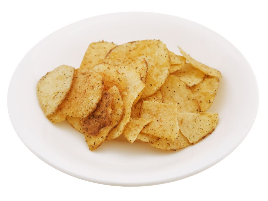 Snack khoai tây vị rong biển cay Green's A gói 44g 6