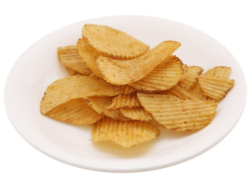 Snack khoai tây Green's A vị thịt nướng gói 44g 6