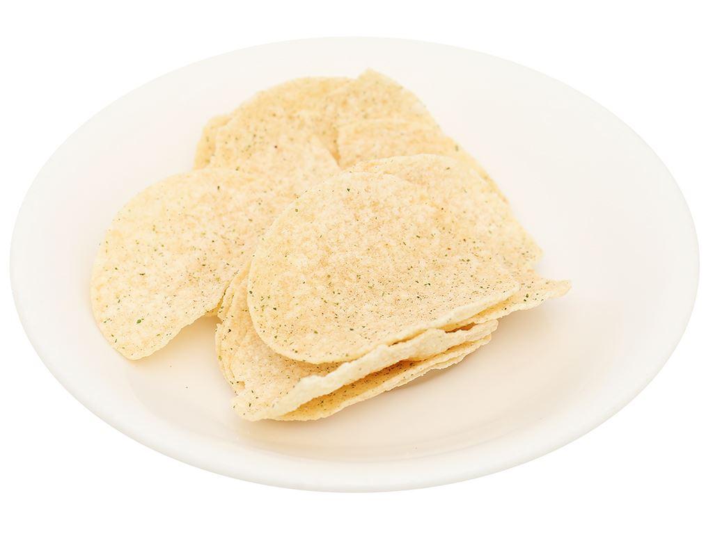 Snack khoai tây vị takoyaki Peke Potato Chips lon 80g 6