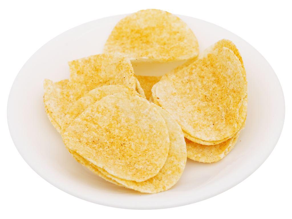 Snack khoai tây vị yakitori Peke Potato Chips lon 80g 8