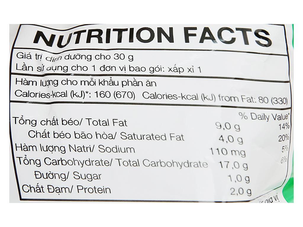 Snack khoai tây tảo biển hải sản Poca gói 25g 3