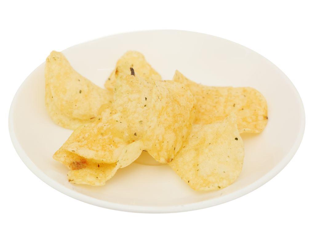 Snack khoai tây tảo biển hải sản Poca gói 25g 7