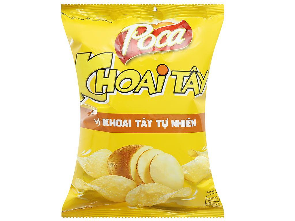 Snack khoai tây vị tự nhiên Poca gói 25g 1