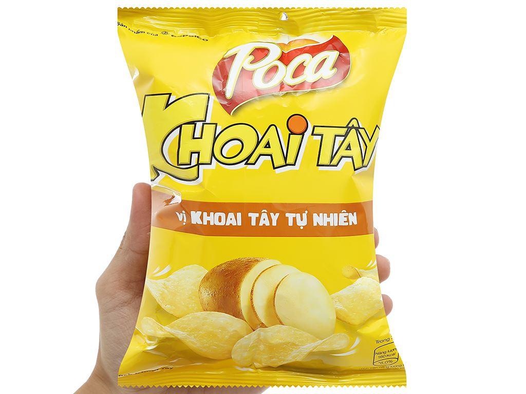 Snack khoai tây vị tự nhiên Poca gói 25g 5