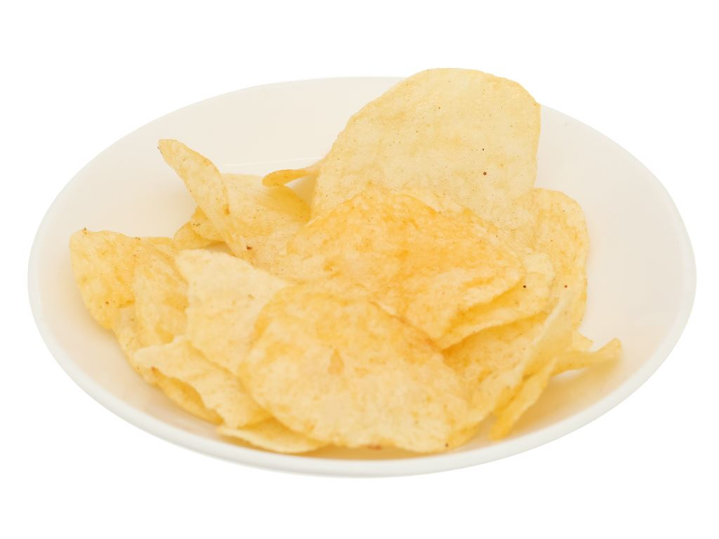 Snack khoai tây vị bò nướng lửa hồng Poca gói 25g 6