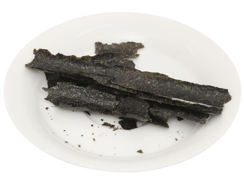 Snack rong biển cuộn vị mực Norisun gói 3g 5