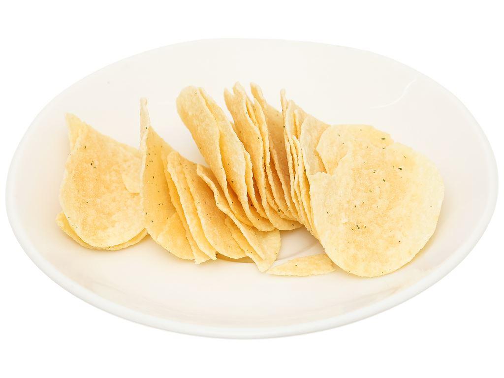 Snack khoai tây vị kem chua và hành tây Lay's stax gói 38g 6