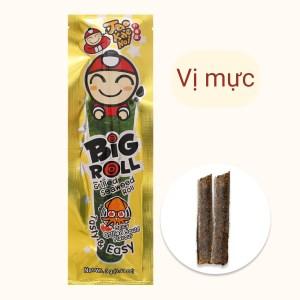 Snack rong biển vị mực Tao Kae Noi Big Roll gói 3g
