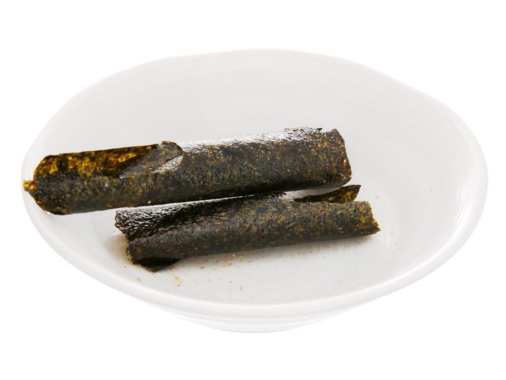 Snack rong biển vị truyền thống Tao Kae Noi Big Roll gói 3g 5