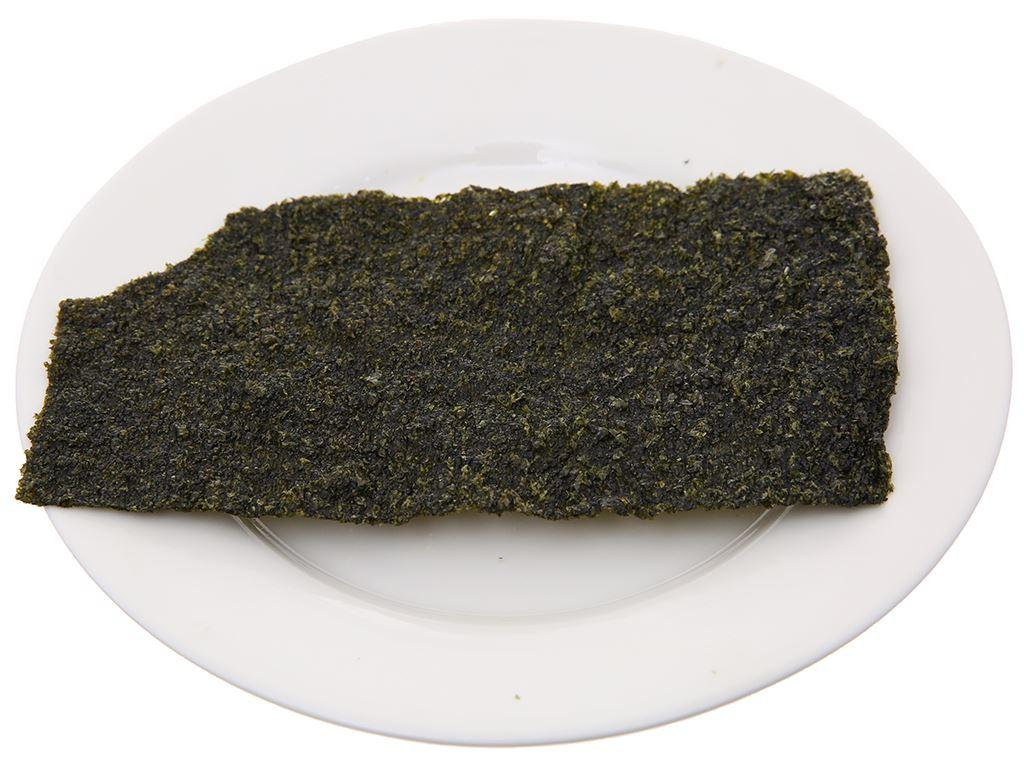 Snack rong biển vị truyền thống Tao Kae Noi Big Sheet gói 3.2g 5