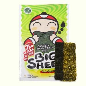 Snack rong biển vị truyền thống Tao Kae Noi Big Sheet gói 3.2g