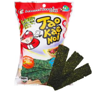 Snack rong biển giòn vị cay Tao Kae Noi gói 15g