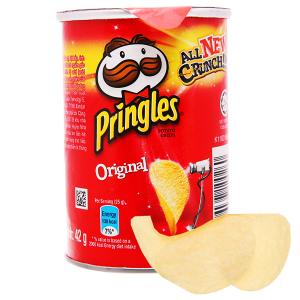 Snack khoai tây vị truyền thống Pringles lon 42g
