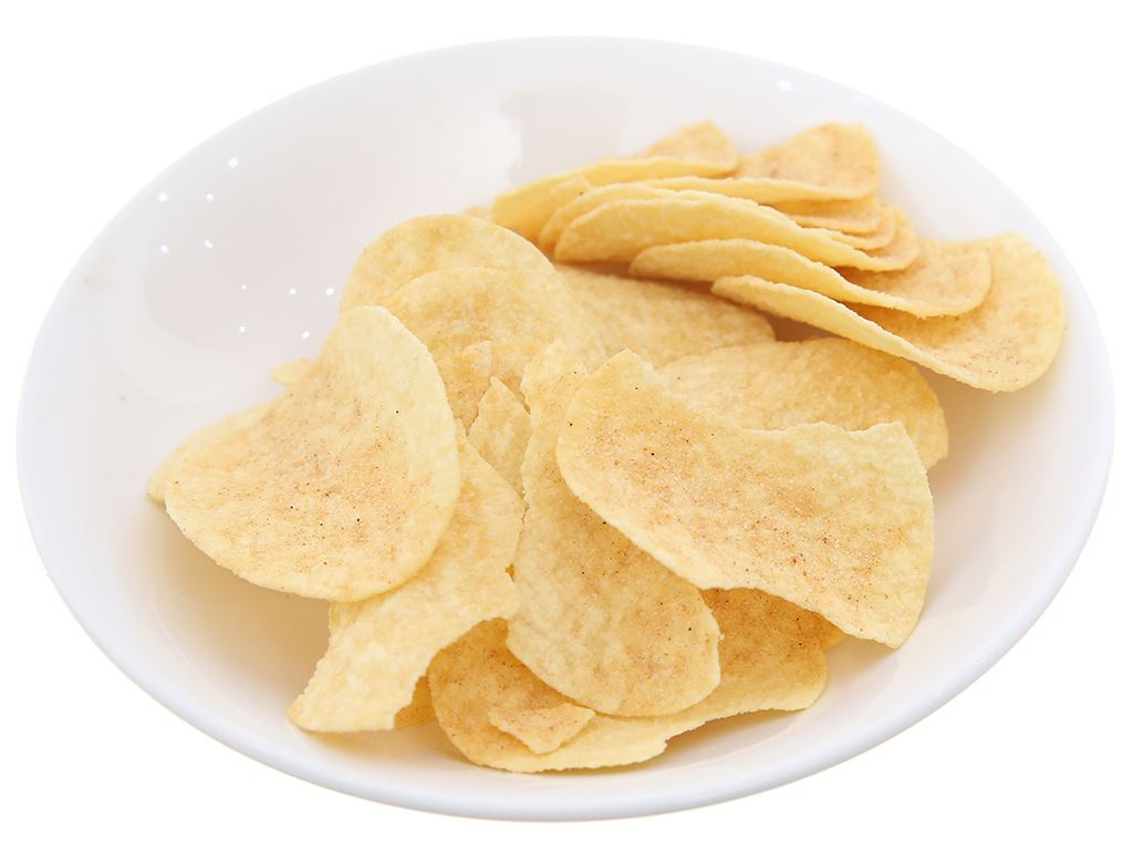 Snack khoai tây vị smoky bbq Pringles lon 107g 6