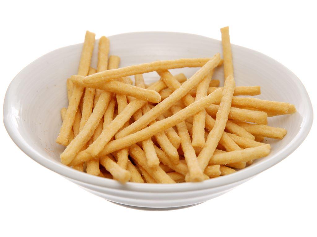 Snack khoai tây que vị muối Oishi Strip Fries gói 27g 5